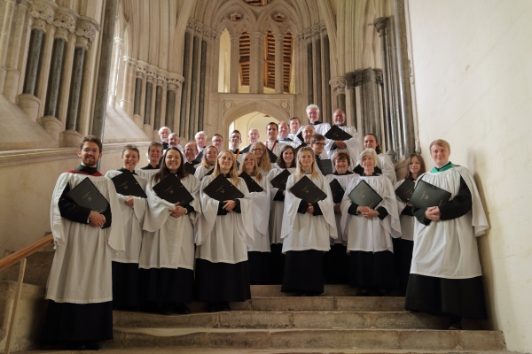 The Choir of St Peter's at Wells Cathedral, August 2017