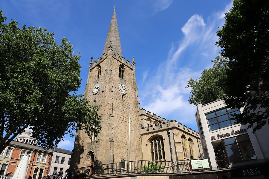 St Peter's Church with St Peter's Centre